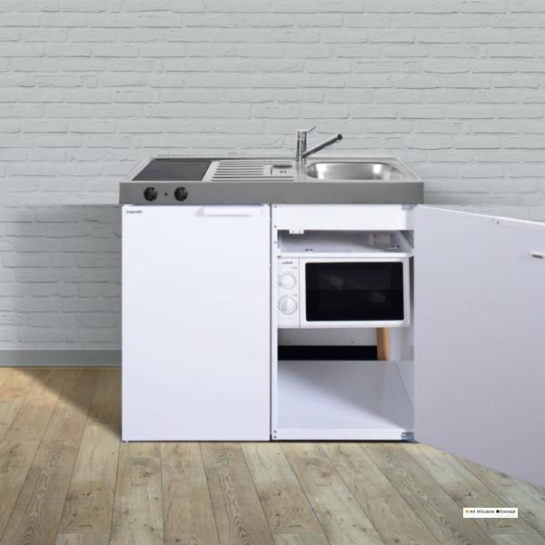 mini cuisine kitchenlline MKM 100 blanche