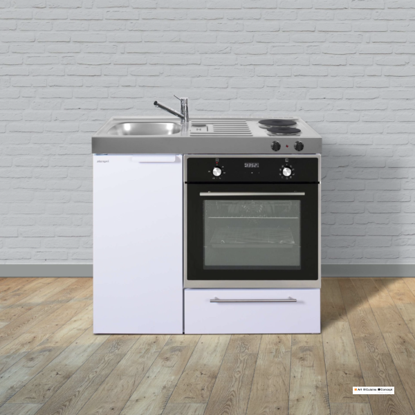 mini cuisine kitchenlline MKB 100 blanche