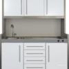 mini cuisine kit studioline SL-D et MPS4 150