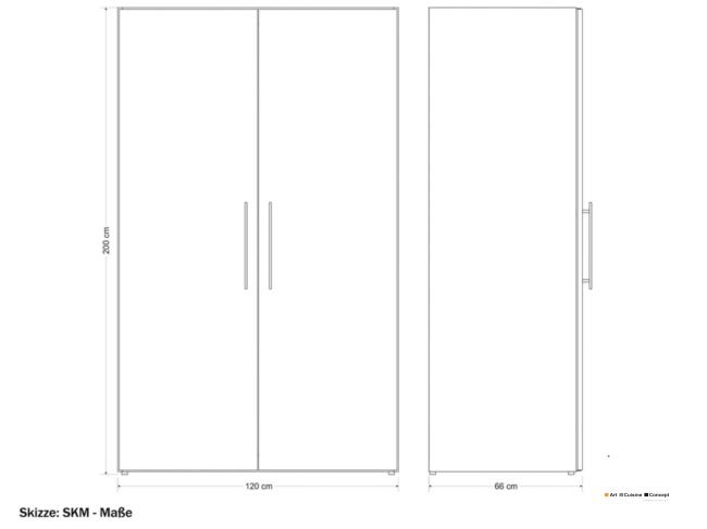 cuisine armoire metal SKM 120