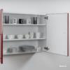 armoire suspendue métal avec poignée