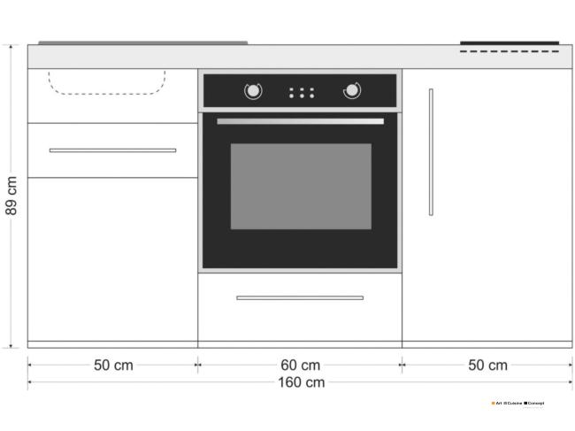 mini cuisine MPB mesures